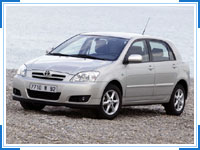 Toyota Corolla,  Luxury Car Hire