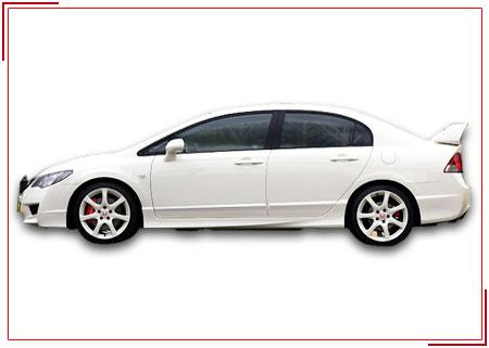 Honda Civic,  Budget Car Rental Services