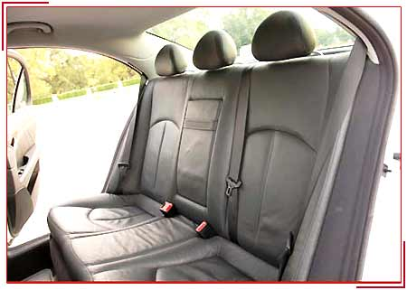 Mercedes-e-Class Interiors, Budget Car Rental Services