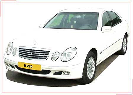 Mercedes-e-Class, Budget Car Rental Services