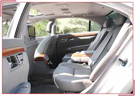 Mercedes-s-Class Interiors, Budget Car Rental Services