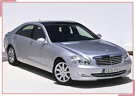 Mercedes-s-Class, Budget Car Rental Services