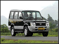 Tata Sumo,  Corporate Car Rental Travel Vacation